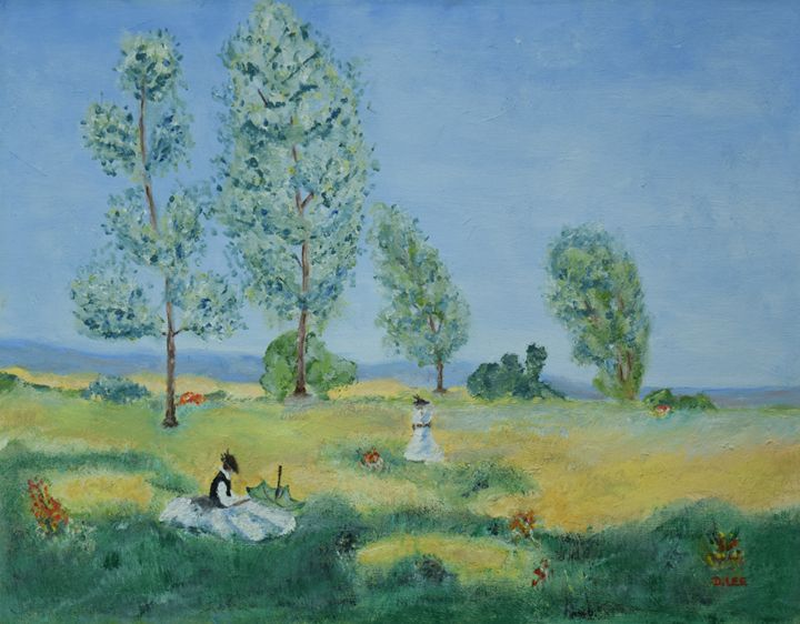 Day in the country - Donald R Lee