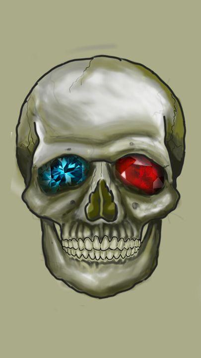 diamond skull - my gallery