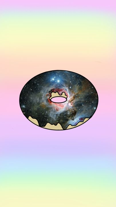galaxy donut - my gallery
