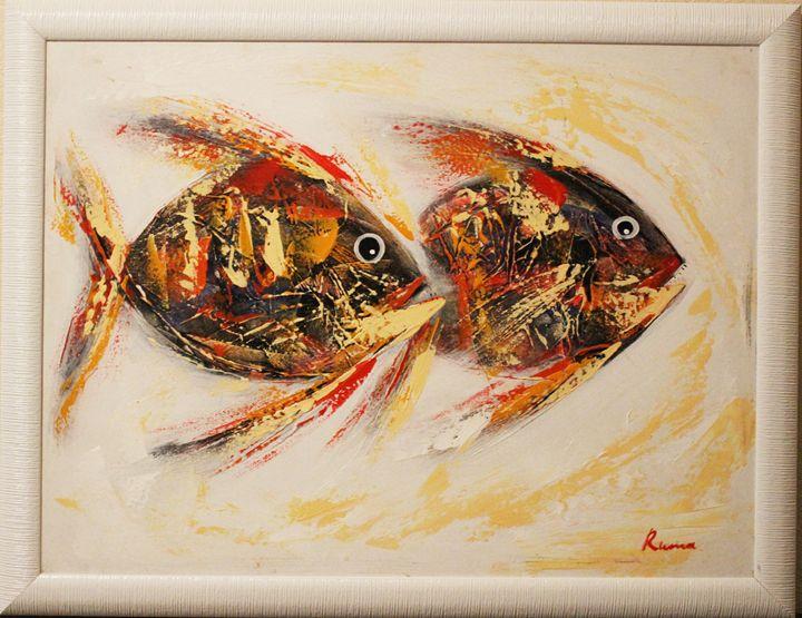 """""""Fishes"""" - Balihandpainters"""