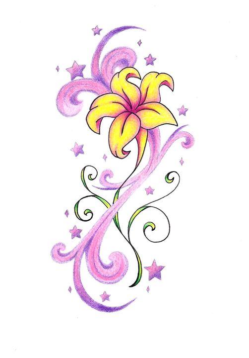 star flower - Tattoo Lady Gallery