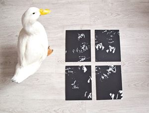Polyptych painted by The Duck