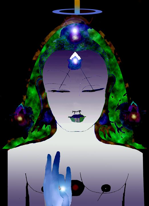 Jadeland /3 - Paintings by Jean Laurent Orgaz