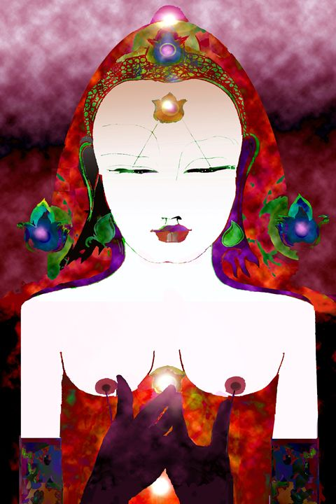 The Way /1 - Paintings by Jean Laurent Orgaz