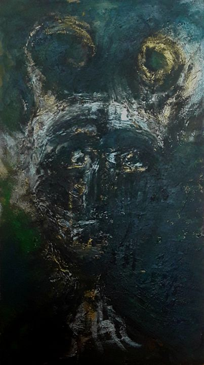 ''Mid shortrage'' - The Devil's reve - Unusual Modern Art