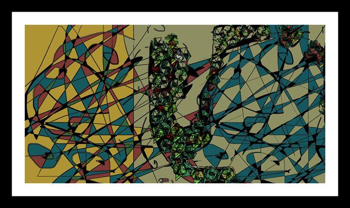 'W A I T I N G' - Unusual Modern Art - Unusual Modern Art