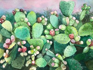 Cactus with berries