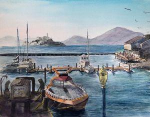 Alcatraz from Pier 39