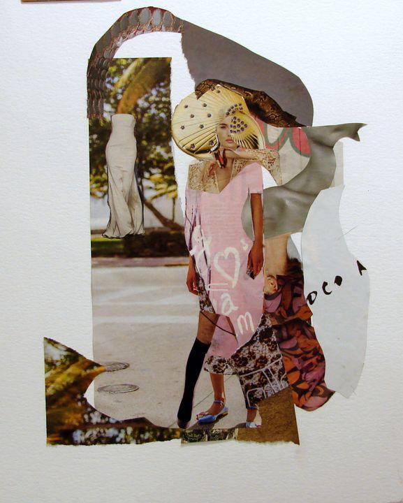 Fashion collage # 5 - Susana Llobet