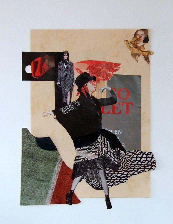 Fashion collage #3 - Susana Llobet