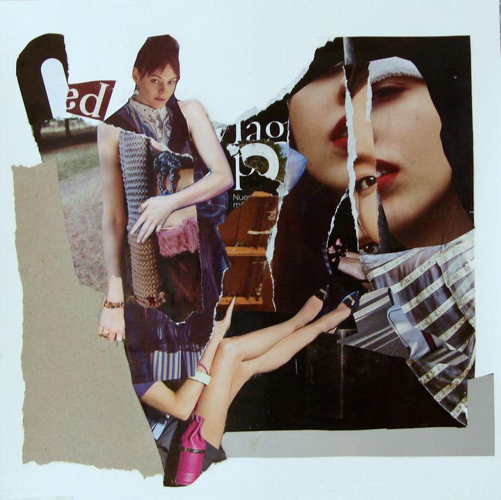 FASHION COLLAGE #8 - Susana Llobet