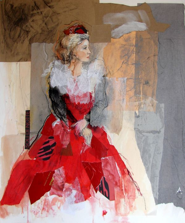 LADY IN RED - Susana Llobet