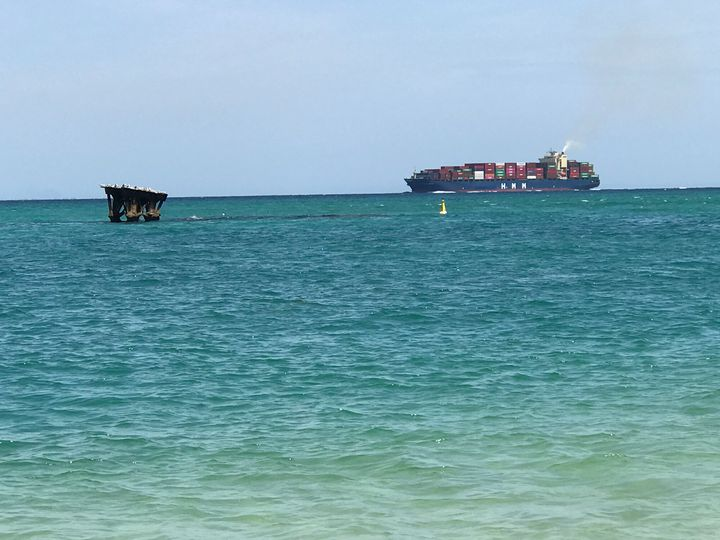 A view from Moreton Island - Julia's Watermarks