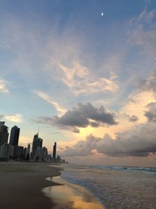 Sunset at Broadbeach