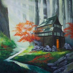 Master Taiyang's hut