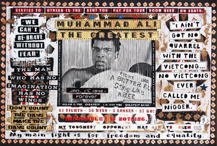 Tribute to Muhammad Ali - MARCOSACCHIART