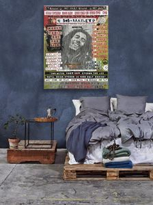 Bob Marley view in a room