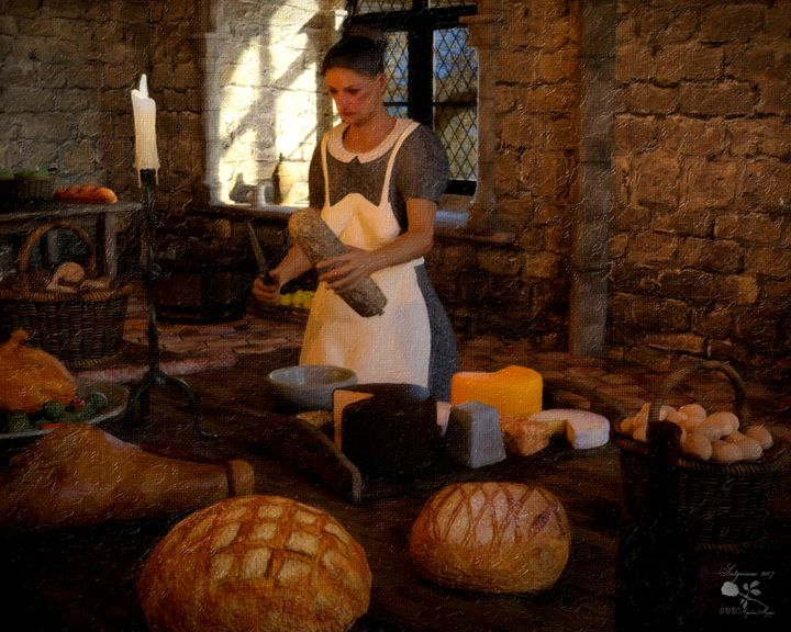 Medieval Kitchen - Mystique Gallery