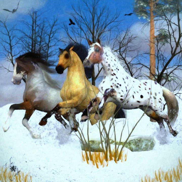 Snow Time - Mystique Gallery