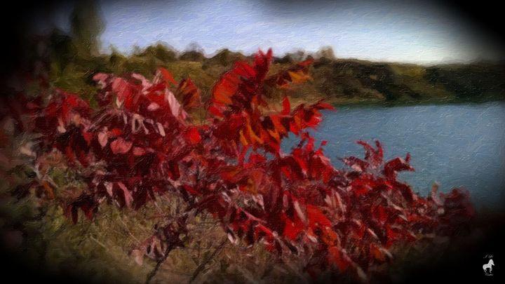 Jo's Red Brush - Mystique Gallery