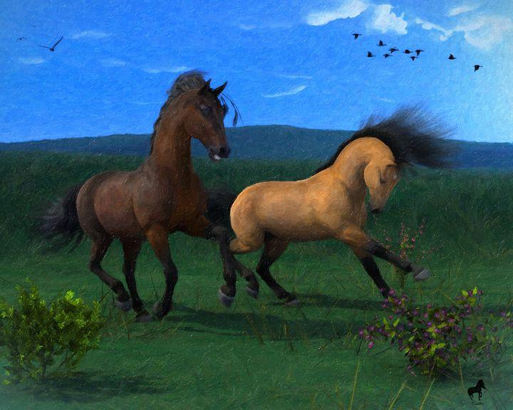 Stallion Fun - Mystique Gallery