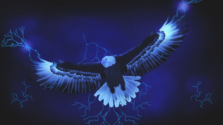 Lightning Eagle - Aramis' Art