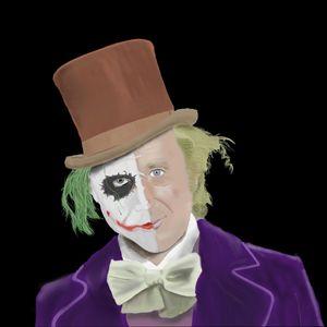 The Joker but just a little 'Wilder'