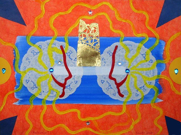 Reflection - Harry Chitrakar Kottler's Paintings