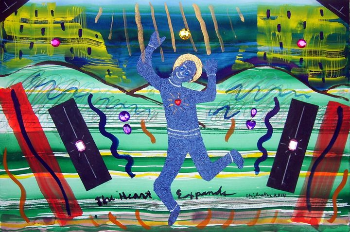 The Heart Expands - Harry Chitrakar Kottler's Paintings