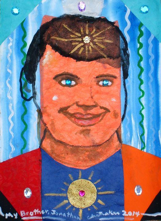 My Brother, Jonathan - Harry Chitrakar Kottler's Paintings