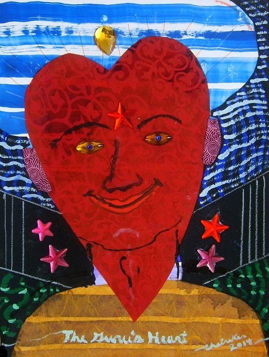 The Guru's Heart - Harry Chitrakar Kottler's Paintings