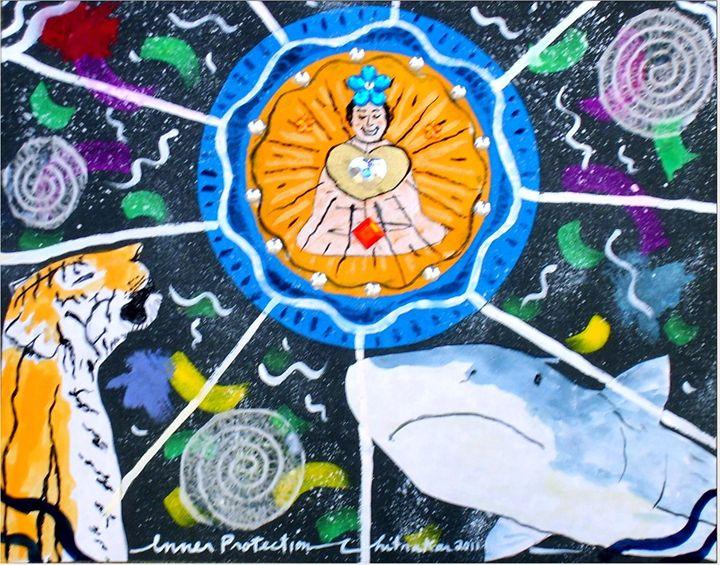 Inner Protection - Harry Chitrakar Kottler's Paintings