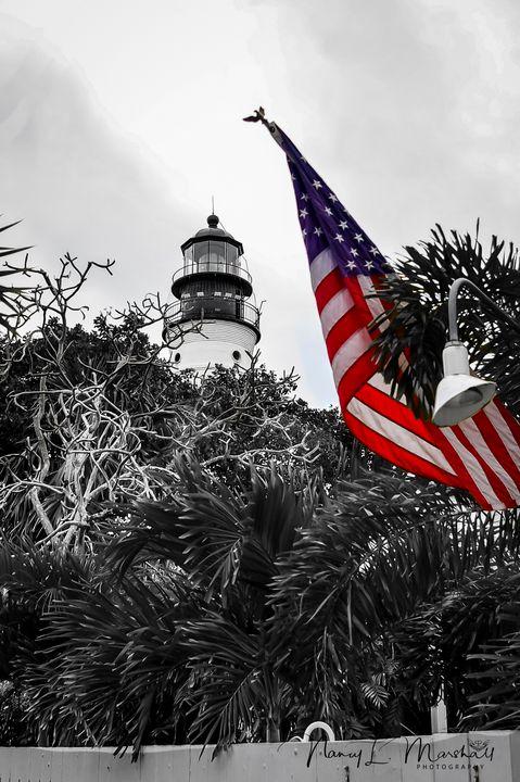 Key West LightHouse Color Pop Signed - ccgrin