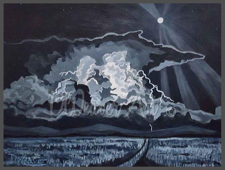 """Moon Lightning"" - Dee Weaver"