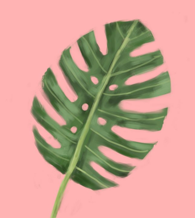 Tropical leaves - Pree project