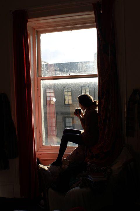 Window tea time - Eréndira Hernández