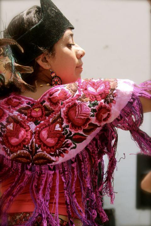 Concheros dancer - Eréndira Hernández