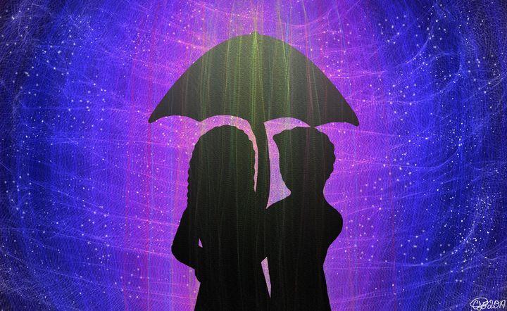Under The Umbrella - KittyR