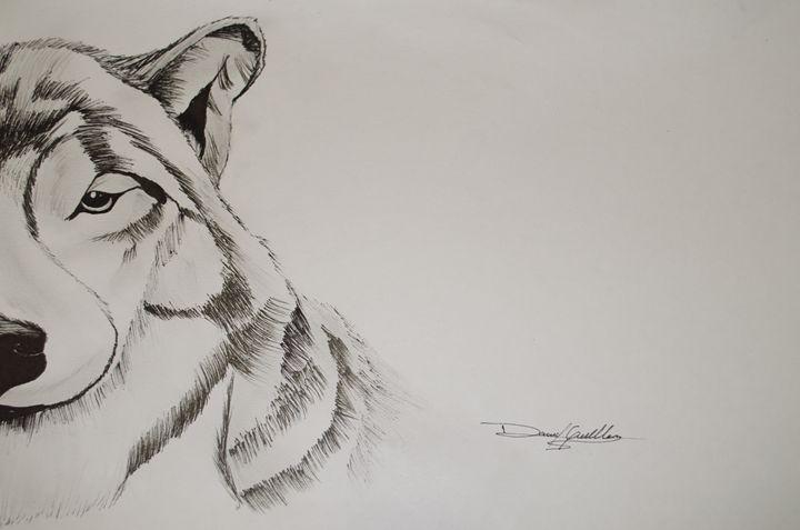 Pencil Dog - Daniel Guillen