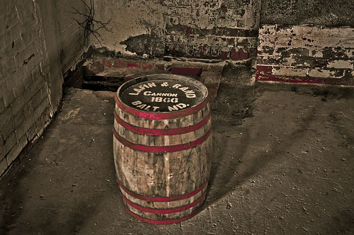 Wooden Barrel - Capturing Life