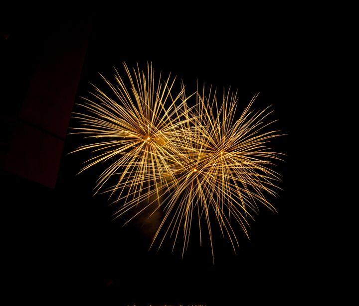 Yellow Fireworks - Capturing Life