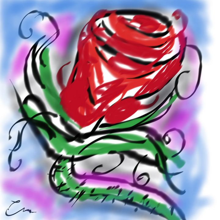 Rose - Abstracto21