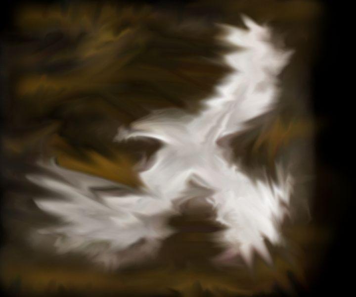 Dove flight - Abstracto21