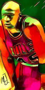 Michael Jordan - Abstracto21