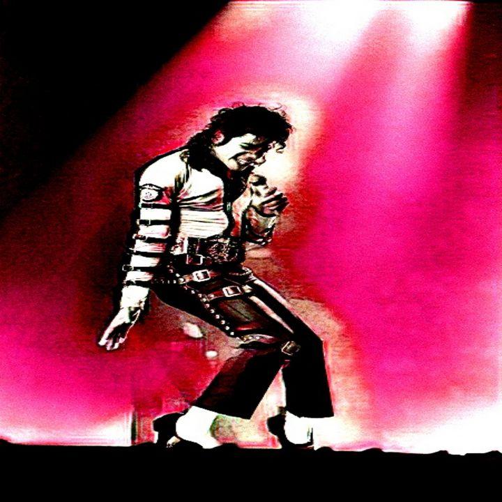Michael Jordan King of pop - Abstracto21
