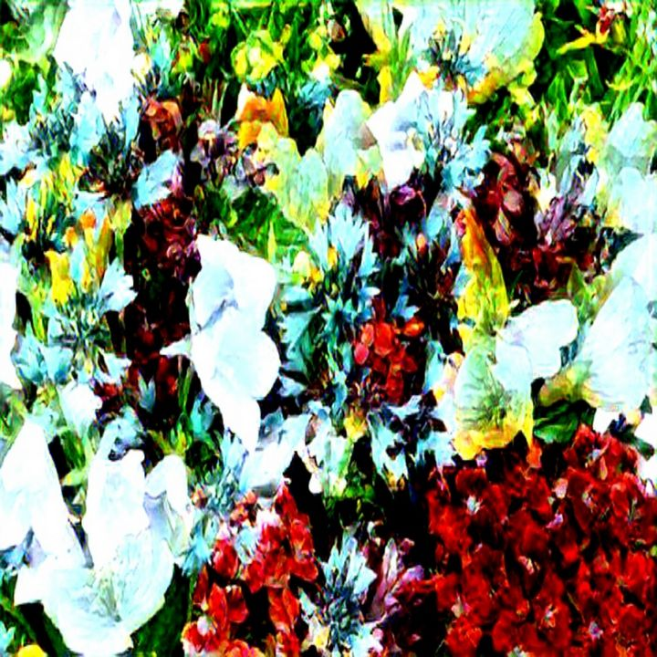 Flower mania - Abstracto21