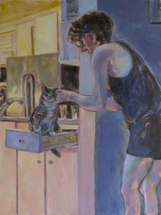 """""""Fine Felines"""" - Cathy Lavin"""