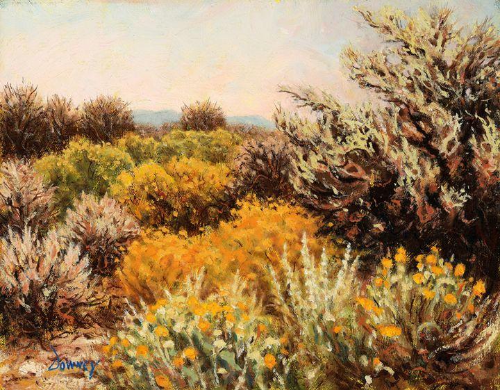 High Desert near Shasta - Carl Downey Art Gallery
