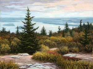 View Cadillac Mountain, Carl Downey