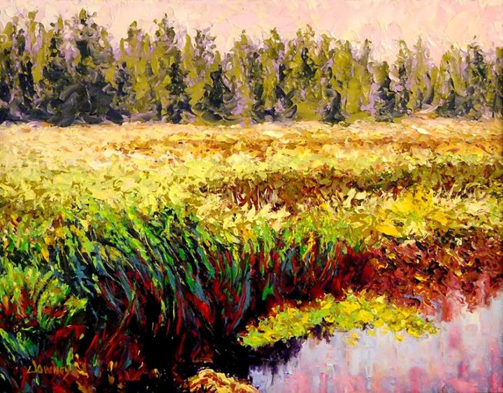 Lagoon near Shasta - Carl Downey Art Gallery